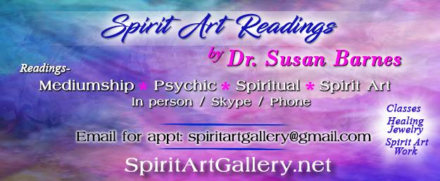 Spirit Art Gallery with Dr. Susan Barnes