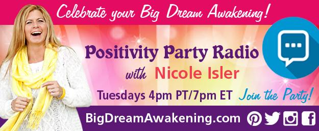 Positivity Party Radio with Nicole Isler