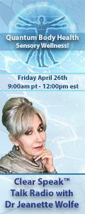 Clear Speak™ Talk Radio with Dr. Jeanette Wolfe, ND: Think It ~ Speak It ~ Live IT ~ NOW