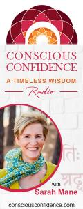 Conscious Confidence Radio - A Timeless Wisdom with Sarah Mane: Stepping into your Next Chapter with Confidence and Clarity! with guest Angela Raspass!