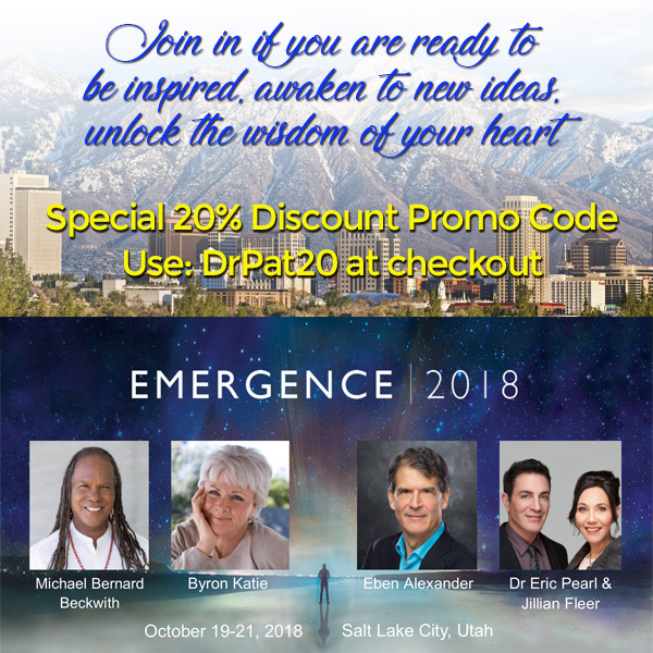 emergence 2018 - drpat20 discount code