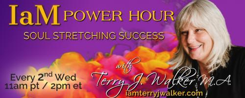 IaM Power Hour: Soul Stretching Success with Terry J. Walker: Sometimes You're  the Windshield - Sometimes  You're the Bug