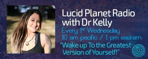 Lucid Planet Radio with Dr. Kelly: Living a Creative Life: Art, Consciousness and Flow with Working Artists Randal Roberts & Morgan Mandala