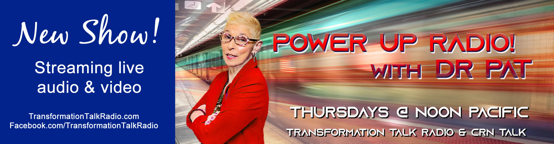 power up radio with dr. pat on crn talk