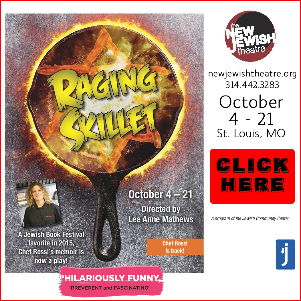 raging skillet play - memoirs of chef rossi - october 4-21 in st louis