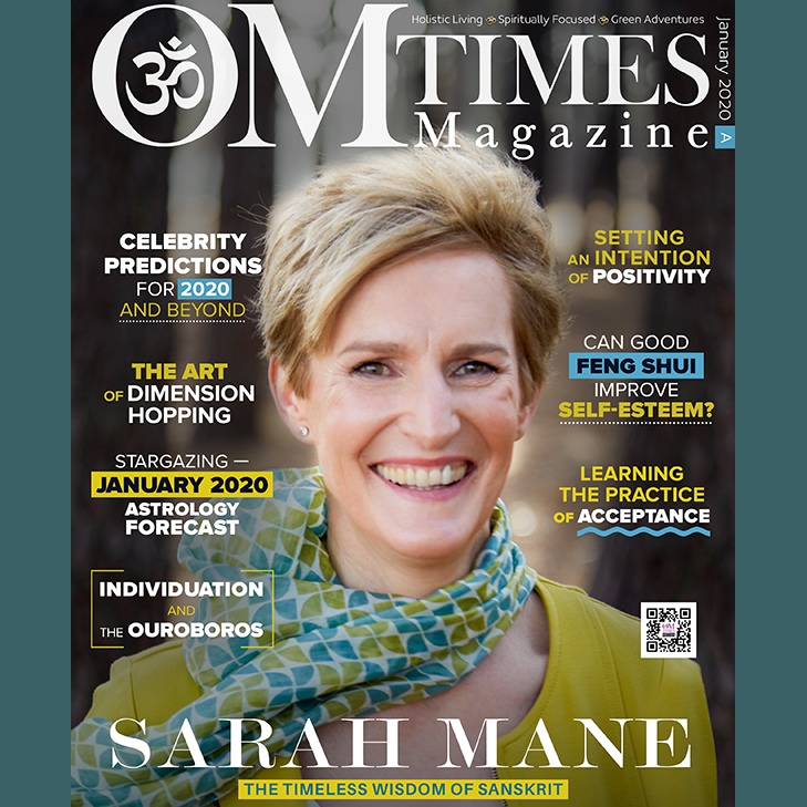 Sarah Mane - The Timeless Wisdom of Sanskrit - OM Times Magazine January 2020
