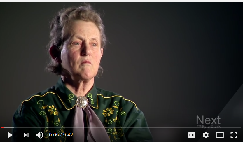Temple Grandin in National Women's Hall of Fame